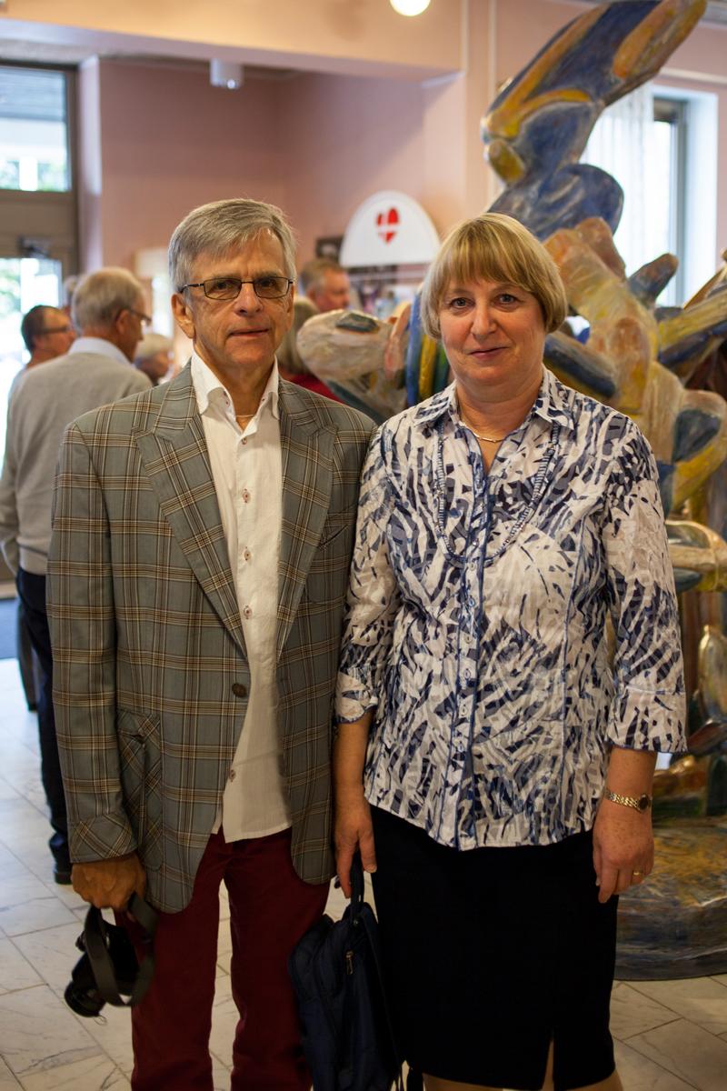 Christina Sejmo med make, Kammarmusikförbundet